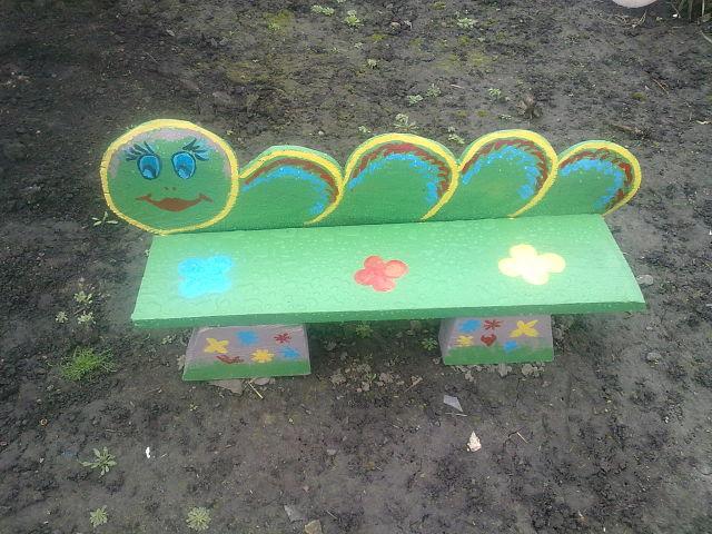 Как можно украсить площадку в детском саду своими руками фото