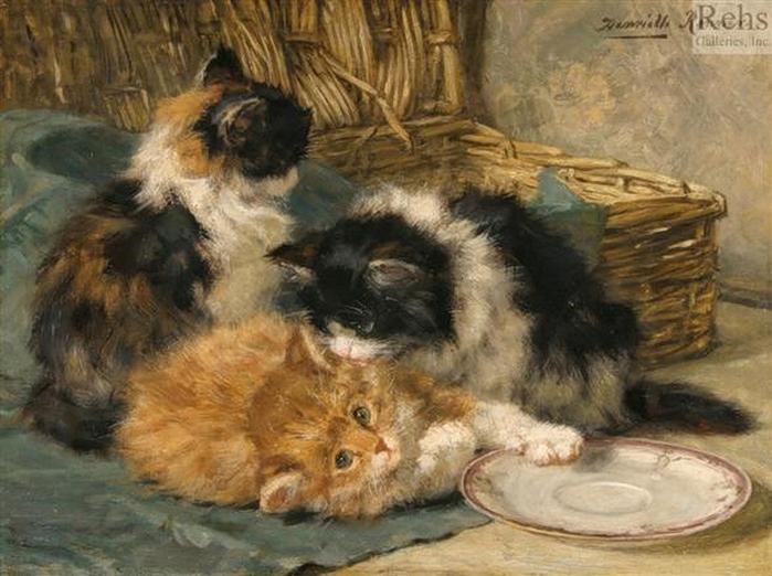 Henriette Ronner-Knip (1821 - 1909) (700x522, 266Kb)