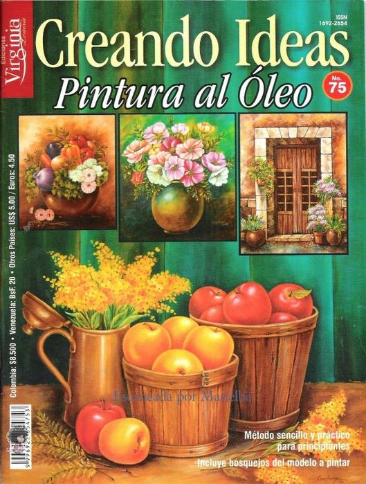 _Creando Ideas no.75 - Pintura al Oleo (529x700, 362Kb)