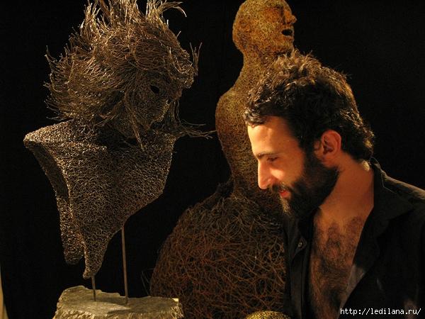 итальянский скульптор Маттиа Тротта (600x450, 239Kb)