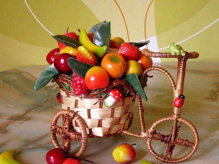 Как сделать декоративные фрукты 705