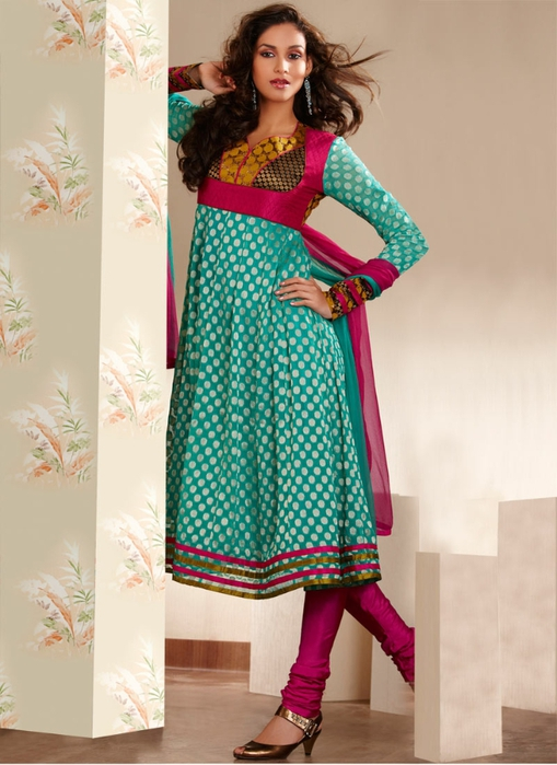 Anarkali Dresses www.Dress9.blogspot.com (8) (509x700, 232Kb)