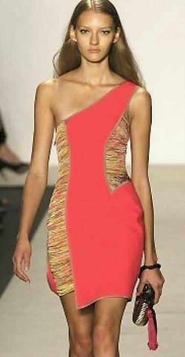 Шьем стильное модное платье.