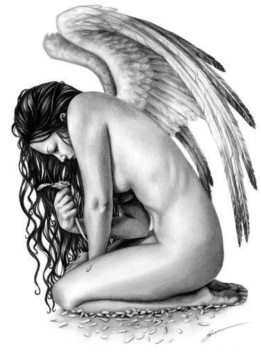 Падший Ангел (Вышивание