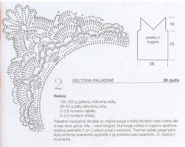 Ткань и вязание крючком со схемами
