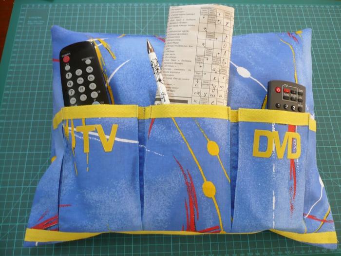 Подушка для пультов выкройка