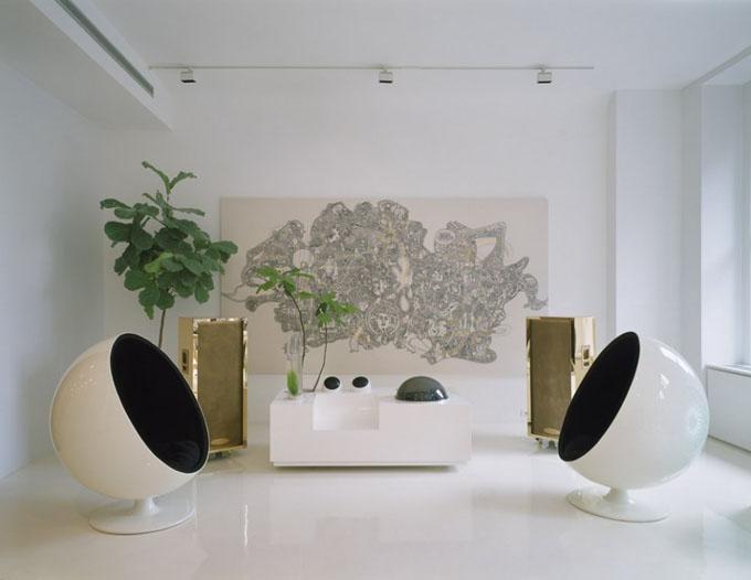 креативный дизайн квартиры фото 1 (680x526, 60Kb)