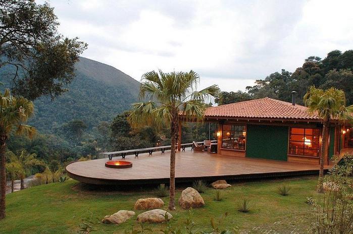 Уютный летний домик у озера от Карлы Беллетти 8 (700x464, 116Kb)