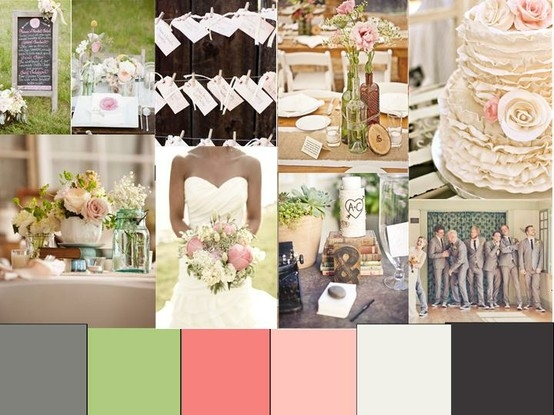 Spring colours wedding