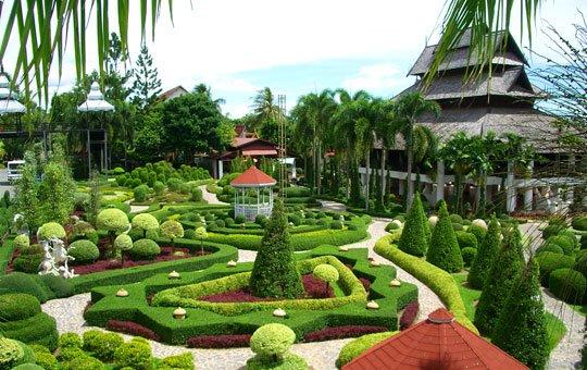 Сад Нонг Нуч в Тайланде считается одним из красивейших садов мира (540x340, 66Kb)