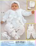 Вязание для детей спицами, схемы, описания детских моделей.