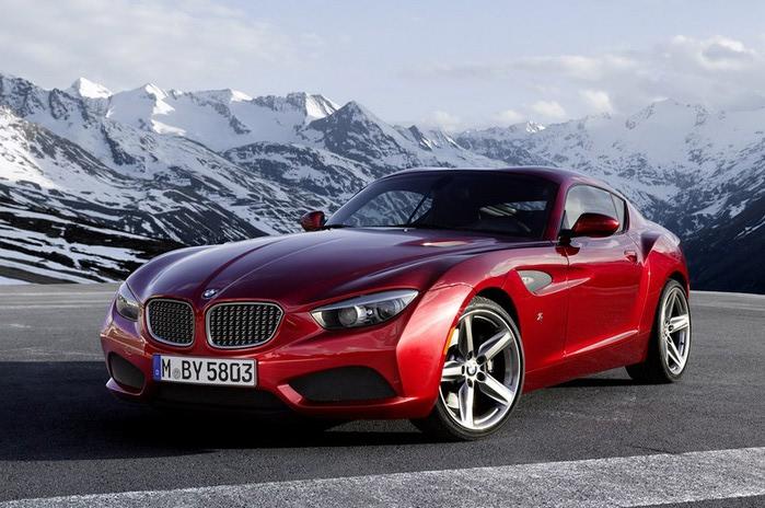 Обалденный BMW Zagato Coupe