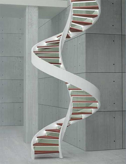 Лестницы для дома - многообразие вариантов