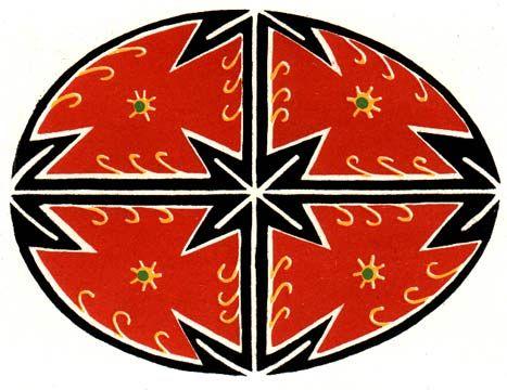 Пасхальные узоры на писанках pashalnyie-uzoryi-na-pisankah151 - Украина.