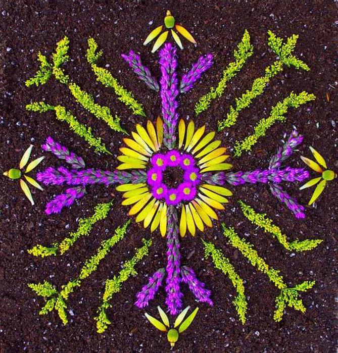 цветочные мандалы фото 27 (669x700, 279Kb)
