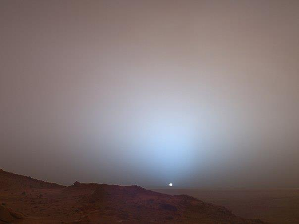 Восход Солнца на Марсе (604x453, 11Kb)