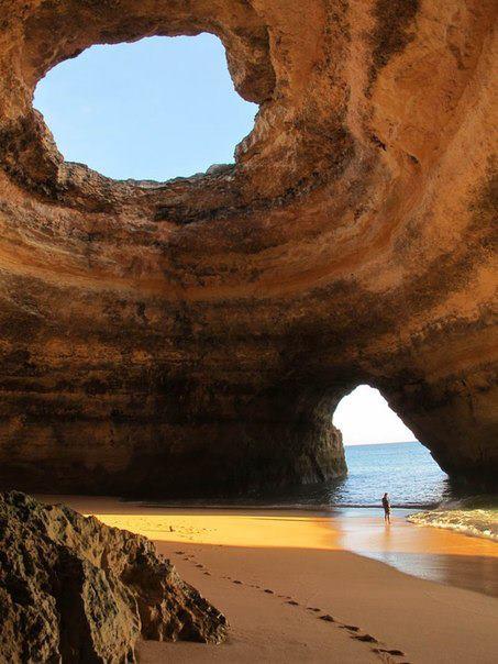 Морская пещера, Алгарве, Португалия (453x604, 50Kb)