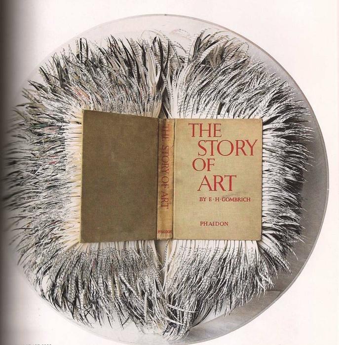 креативные скульптуры из книг (687x700, 371Kb)