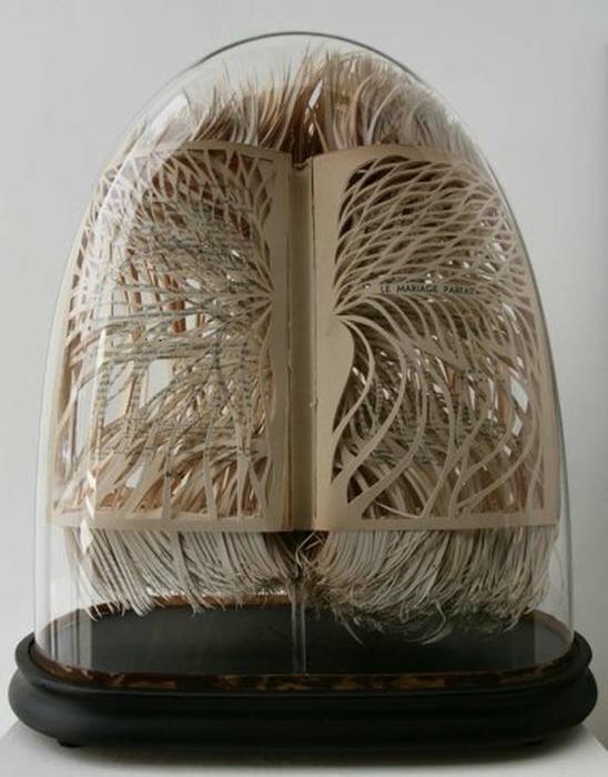 креативные скульптуры из книг 4 (548x700, 197Kb)