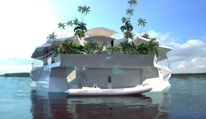 плавучий остров корабль фото 2 (700x404, 81Kb)