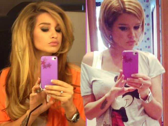 Ксения бородина и ее стрижка фото