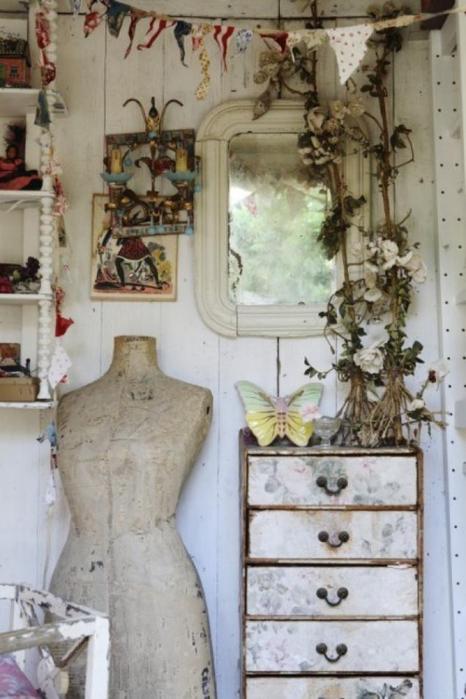 арт мастерская,студия,дизайн своей студии,как оформить свою арт студию (466x700, 314Kb)