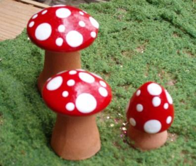 Set 3 Clay Mushrooms Red (396x336, 39Kb)