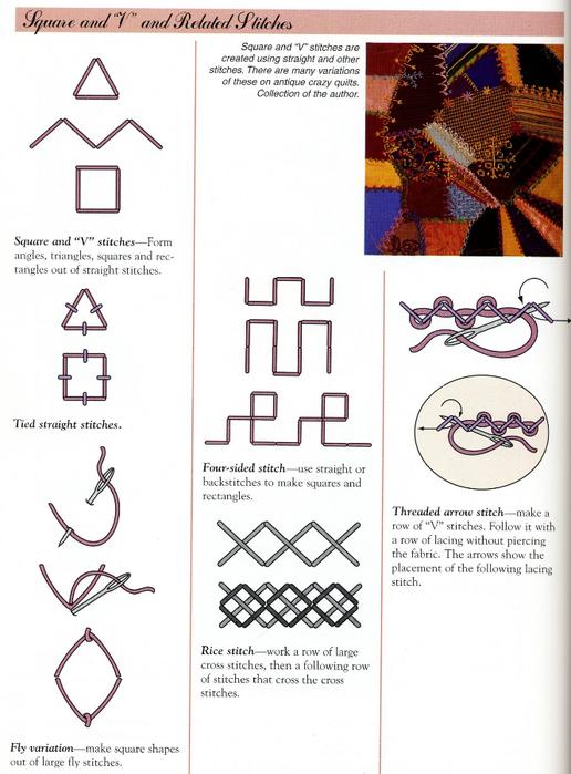 """刺绣基础:""""简单的宝藏""""(拼绣模式) - maomao - 我随心动"""