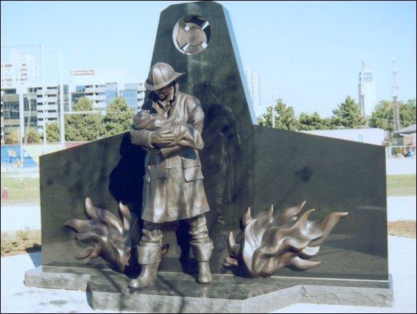 Конкурс на лучший эскизный проект памятника пожарным