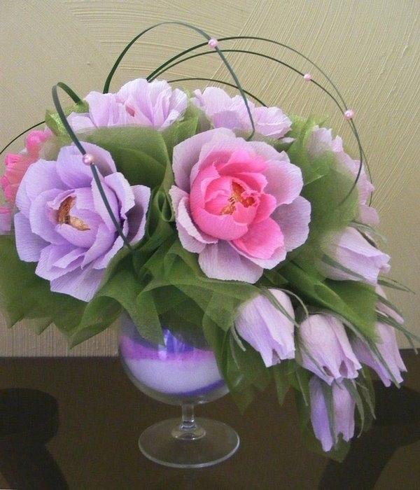 Букеты из конфет роза своими руками пошаговое фото