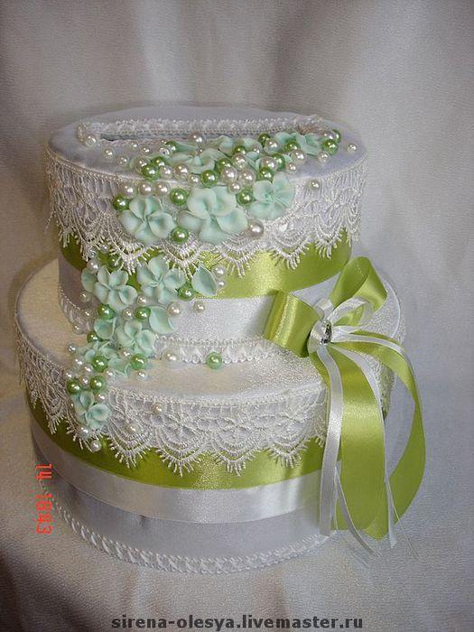 Коробочка торт для денег своими руками 1
