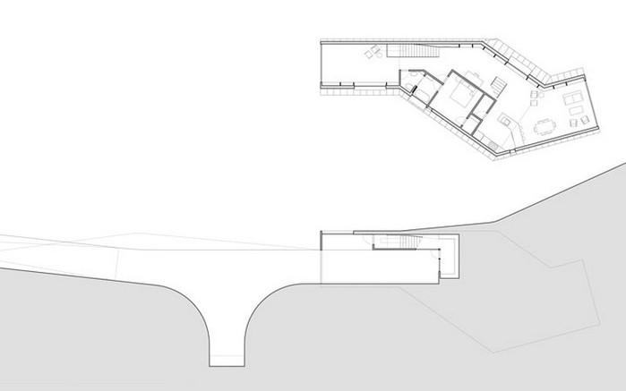 Оригинальный дом Allandale House 15 (700x437, 19Kb)