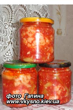 Рецепт капуста в томатном соке