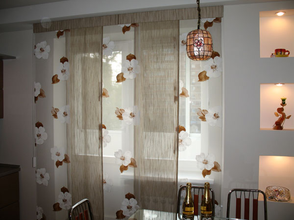 Римские и японские шторы