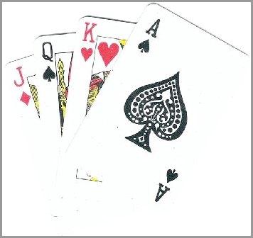 Покер лейтаут