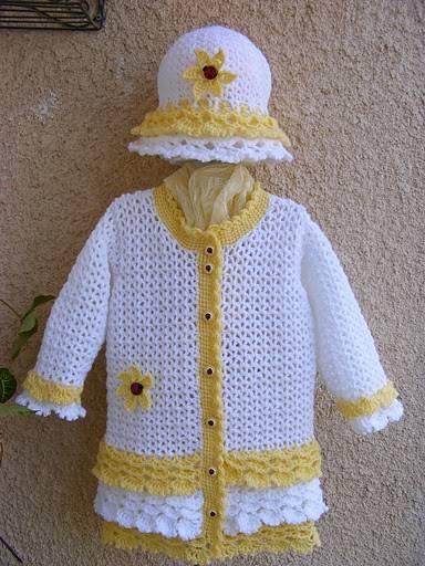 Вязаная детская одежда: модели