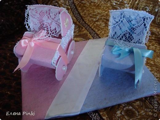 Коляска своими руками из коробки для свадьбы