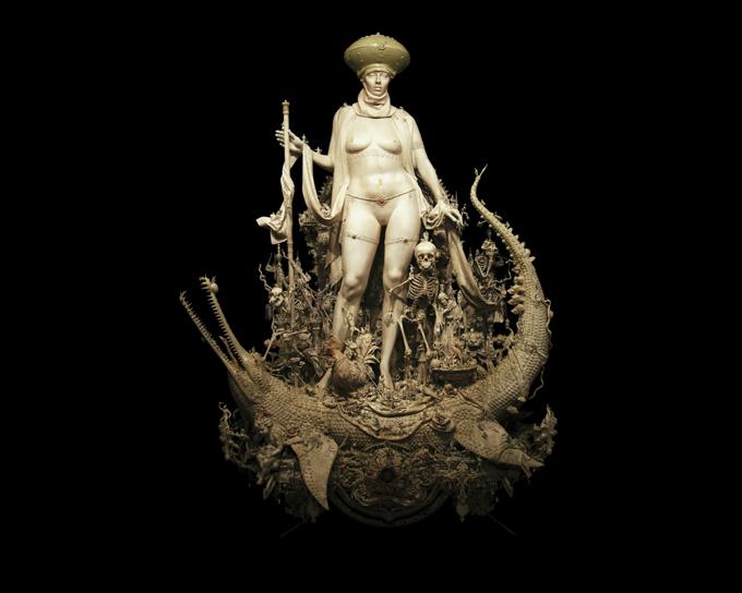 Kris Kuksi скульптуры 17 (680x544, 165Kb)