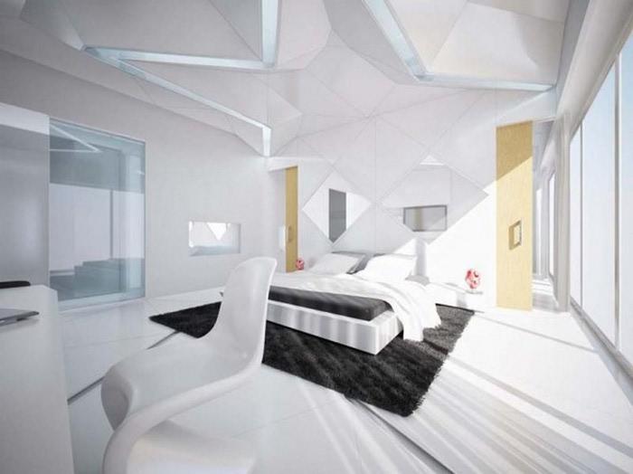 Черно-белый дизайн квартир