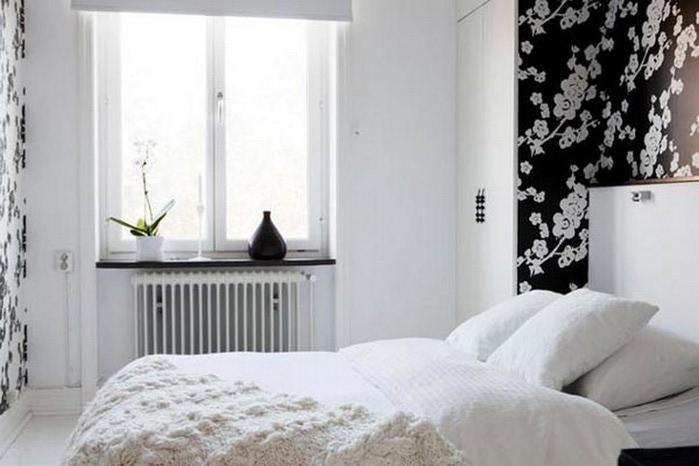 Черно-белый дизайн квартир 16 (700x466, 64Kb)