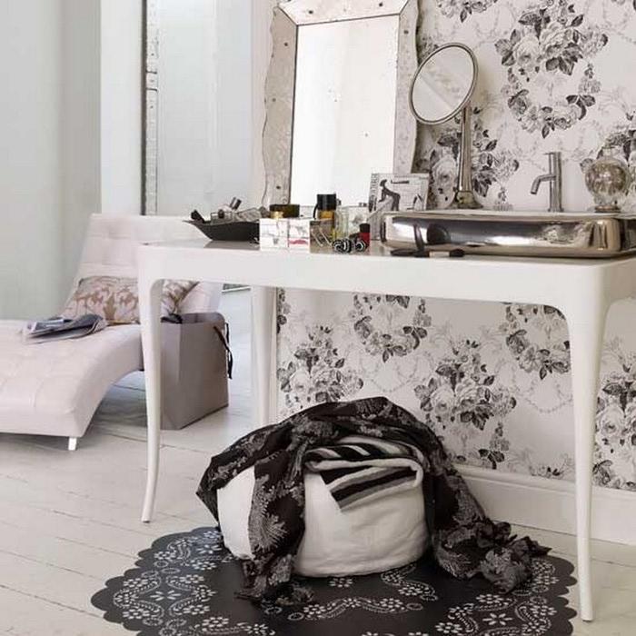 Черно-белый дизайн квартир 17 (700x700, 120Kb)