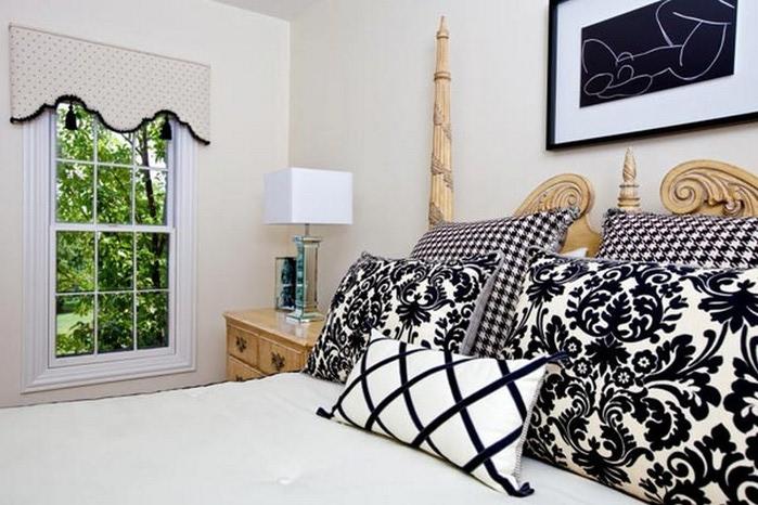 Черно-белый дизайн квартир 18 (700x466, 102Kb)