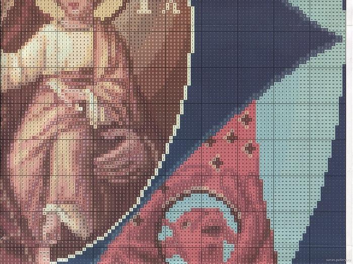 Вышивание крестом, схемы