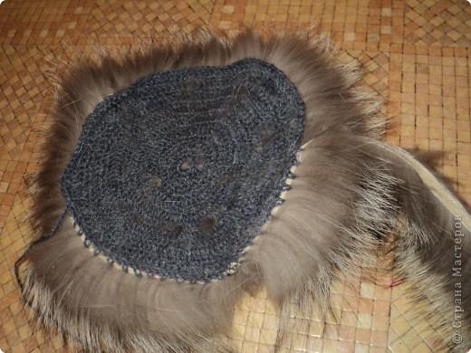 Вязание шапок из меха норки