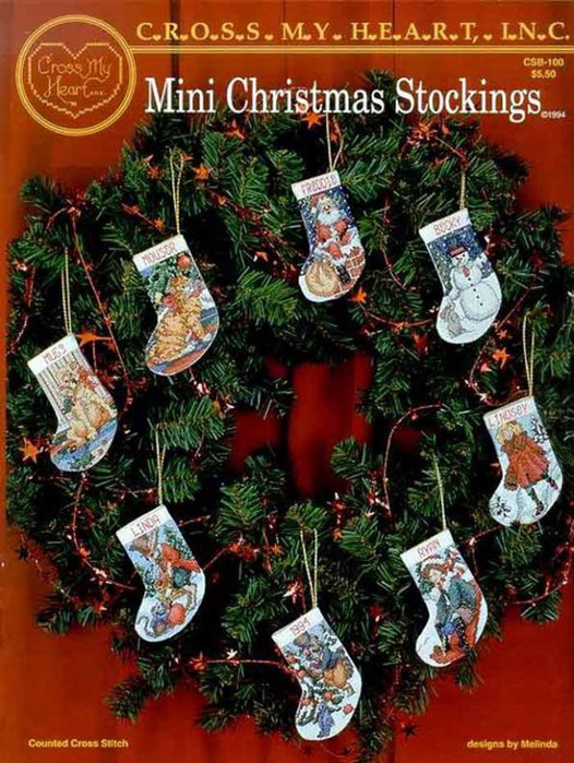 Превью Mini Christmas Stocking