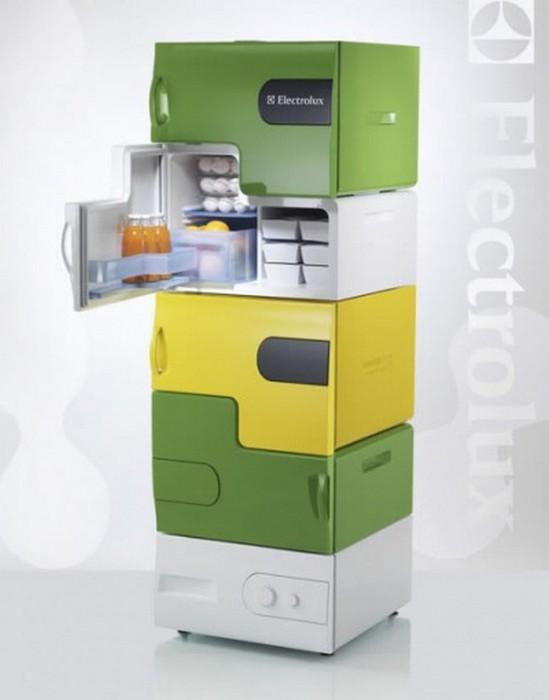Креативный дизайн холодильника для вашей кухни 13 (549x700, 42Kb)