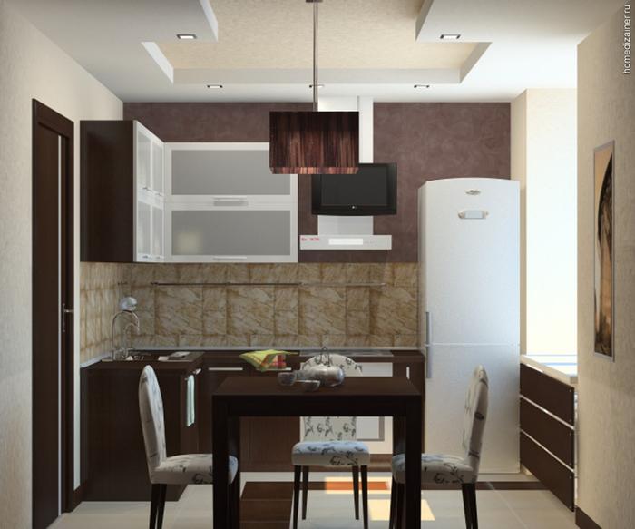 маленькая кухня (700x583, 302Kb)