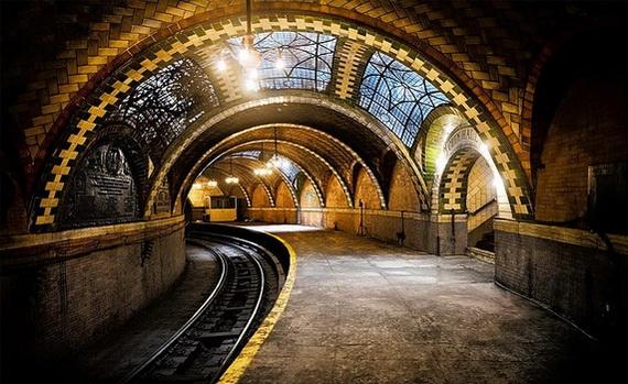 заброшенная станция метро в нью-йорке (570x349, 177Kb)