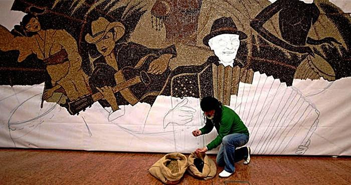 мозаика из кофейных зерен Саимир Страти 5 (700x369, 112Kb)