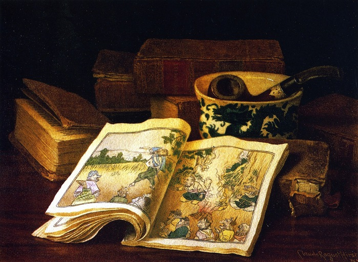 Still LIfe with Japanese Children's Book (700x512, 152Kb)